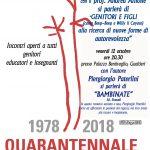 GENITORI E FIGLI : alla ricerca di nuove fonti di autorevolezza – Gualtieri – 10 e 12 ottobre 2018 (A. Allione – P. Paterlini)